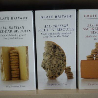 Stilton Biscuits