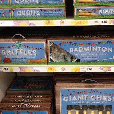 Skittles Badminton