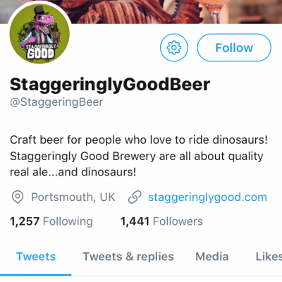 Staggering Beer
