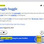 Snuggle Buggle