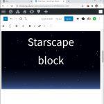 Starscape Block