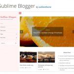Sublime Blogger